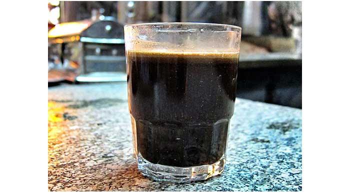 kopi yang sudah jadi dan siap disantap