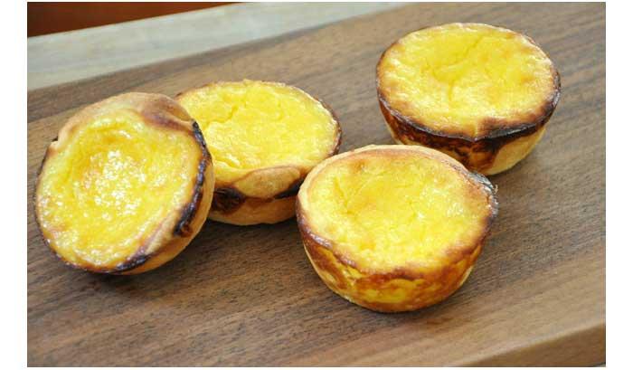 pasteis de nata atau egg tart