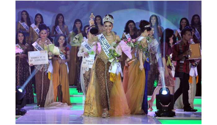 Miss Coffee Indonesia 2013