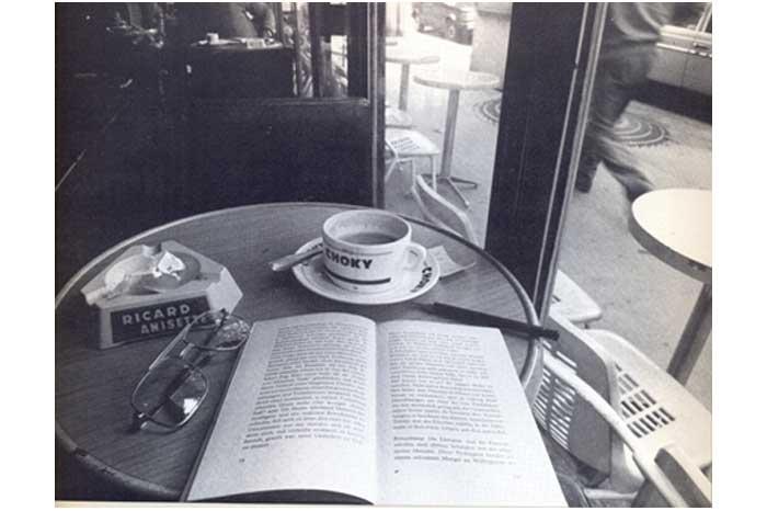sastra tentang kopi pertama disimpan di perpustakaan di Prancis