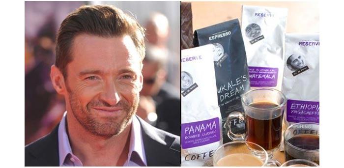 Hugh Jackman membuat Laughing Man & Coffee untuk amal