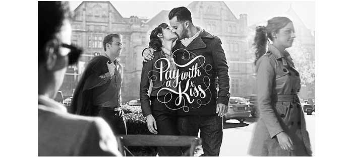 pay with a kiss di kedai kopi di australia
