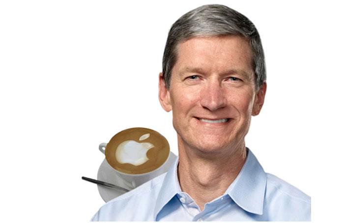 ngopi bareng CEO Apple Tim Cook