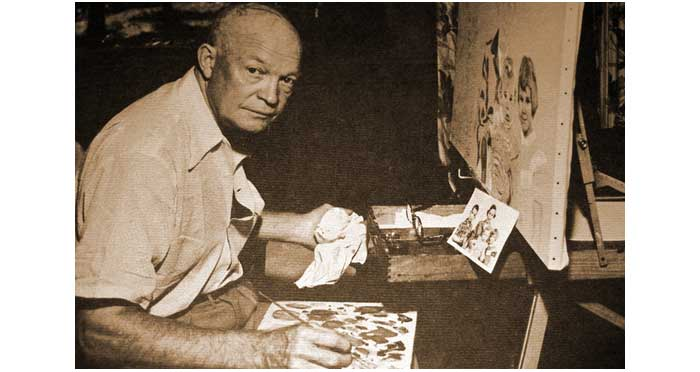 dwight-eisenhower-artist-painting-1