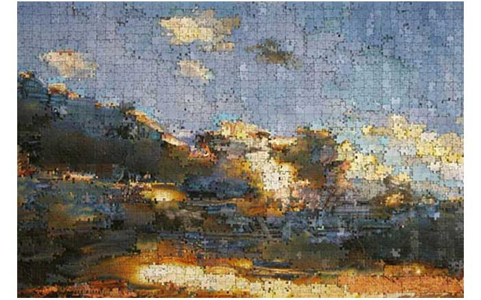 One-of-Gerhard-Mayer's-fantasy-landscapes-he-has-created-using-thousands-of-assorted-pieces-from-dozens-of-different-jigsaw-puzzles-752086