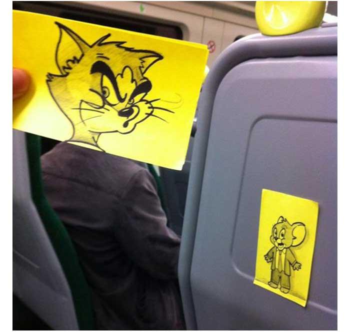cartoon-faces-train-ride-october-jones-joe-butcher-2a