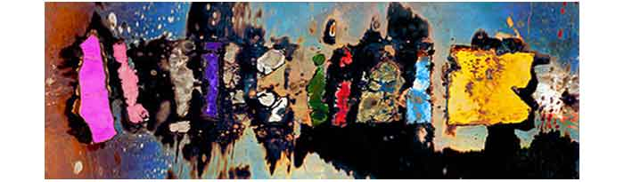 Stepping-Stones-digitally-re-mastered-baked-oil-on-steel-limited-edition-print-48x16
