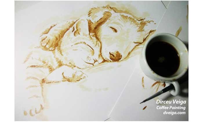 pets-coffee-art