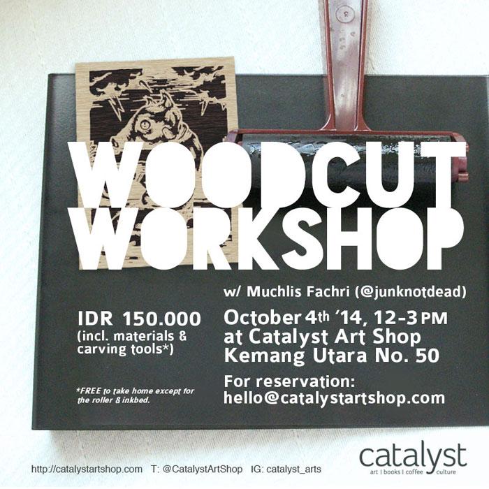 Woodcut-Workshop-with-Muchlis-Fachri-at-Catalyst-Art-Shop-Kemang