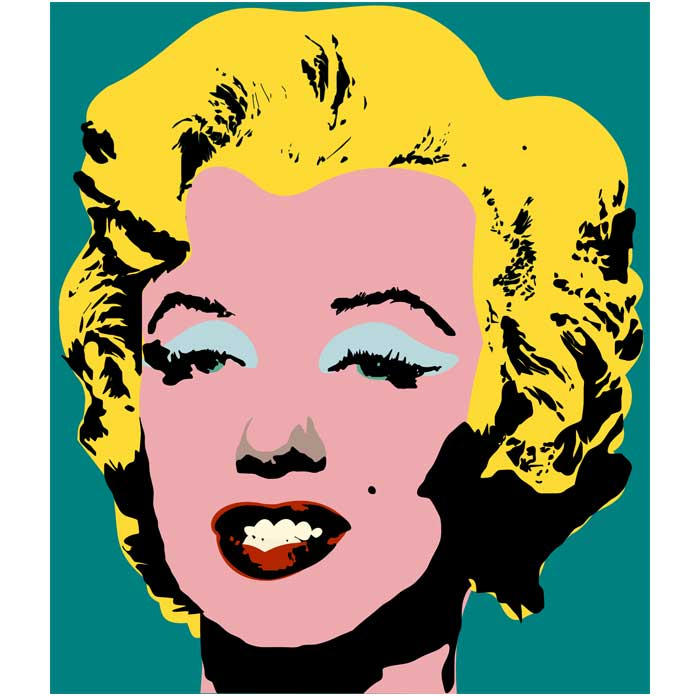 ... Andy Warhol Paintings Marilyn Monroemarilyn Monroe Andy Warhol Style