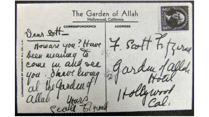 F.-Scott-Fitzgerald-postcard--e1362679527518