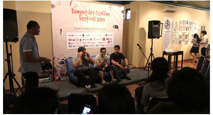 Talkshow-Kopi-Gajah-bersama-WWF-Indonesia-di-Kemang-Art-&-Coffee-Festival-2014