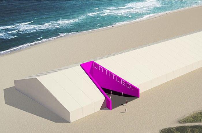 UNTITLED. Pavilion, designed by K/R.