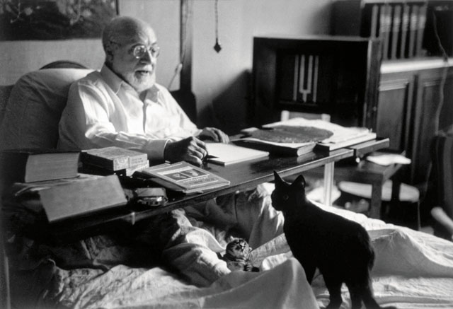 Henri Matisse. © Robert Capa © International Center of Photography/Magnum Photos.