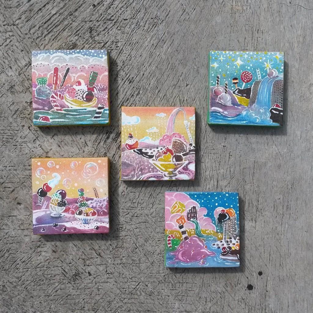 Aisukurimu no sekai, salah satu karya yang akan dibawa untuk Catalyst Art Market
