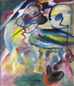 Picture with a Circle (2011) karya Wassily Kandinsky (sumber gambar: arthistory.about.com)