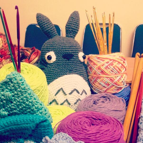 Totoro rajut, karya tim WeWo