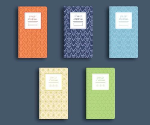 Modern retro ephemera notebooks, salah satu jenis produk yang akan dibawa untuk Catalyst Art Market