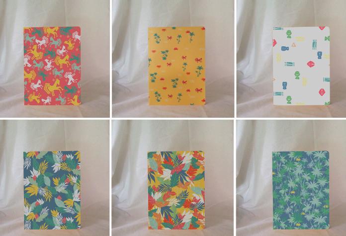 Notebook, salah satu produk yang akan dibawa untuk Catalyst Art Market