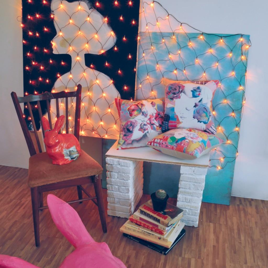 Cushions square, salah satu produk yang akan dibawa untuk Catalyst Art Market