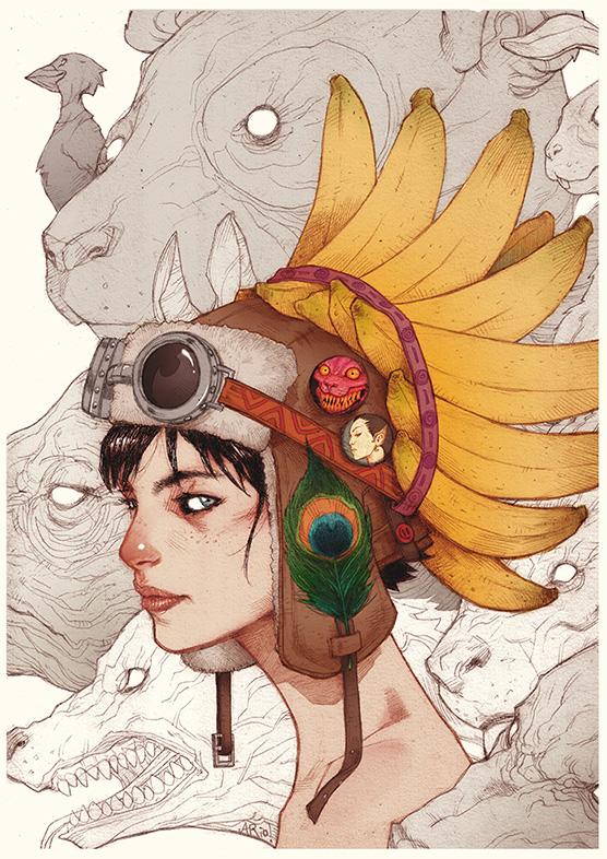 Princess Consuela Bananahammock, salah satu karya yang akan dibawa untuk Catalyst Art Market