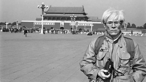 Andy Warhol in Tiananmen Square source: http://www.smh.com.au/
