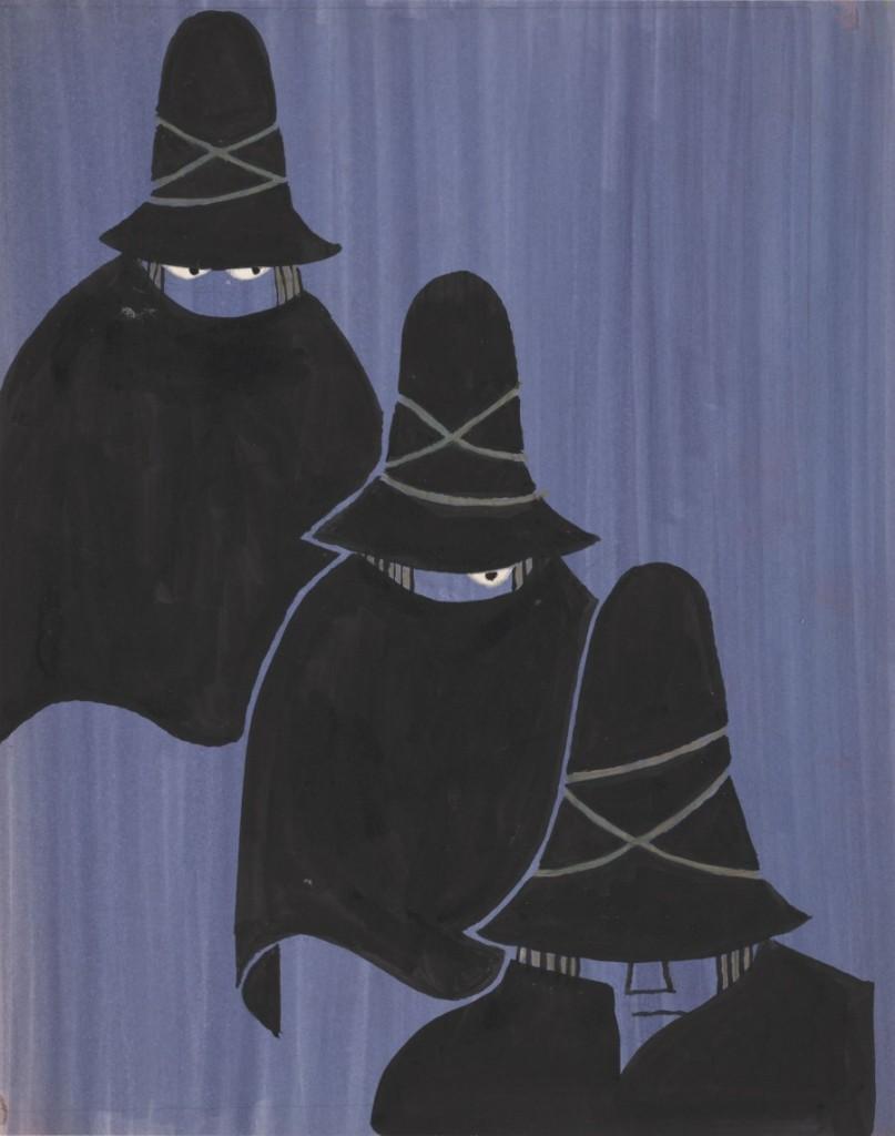 tiga pencuri
