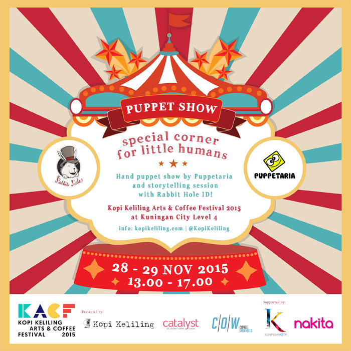 Puppet-Show-KACF-2015-Puppetaria-Rabbit-Hole-ID-Kopi-Keliling