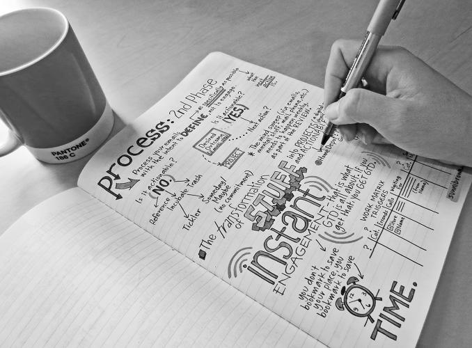 The Scientific Case For Doodling While Taking Notes