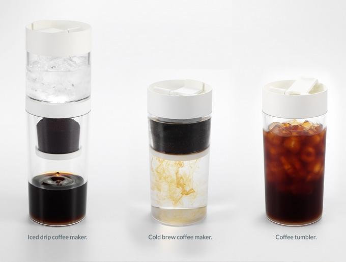 Cara Menggunakan Coffee Maker Elba : Dripo: Alat Membuat Cold Brew Coffee Sekaligus Tumbler Kopi Keliling