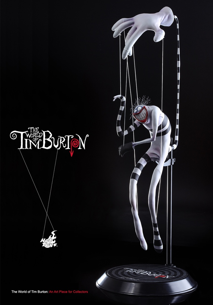 the world of tim burton an art piece for collectors